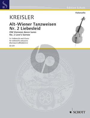 Kreisler Liebesleid (Alt-Wienertanzweisen No.2) Violoncello-Klavier (Mats Lidström)