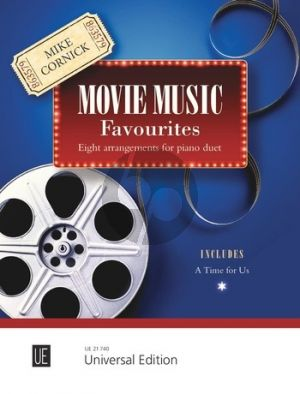 Cornick Movie Music Favourites for Piano 4 hands (Bk-Cd)