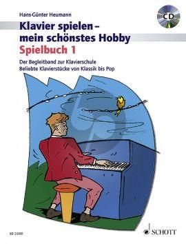 Heumann Klavierspielen mein schönstes Hobby Spielbuch 1 (Bk-Cd)