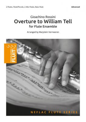 Rossini Overture to William Tell Flute Ensemble (Score/Parts) (transcr. by Marjolein Vermeeren)