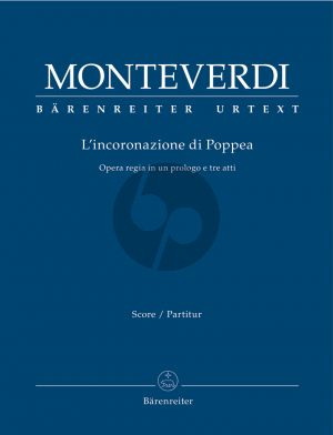 Monteverdi L'incoronazione di Poppea Soli-String Orchestra-Bc Full Score (edited by Hendrik Schulze) (Barenreiter-Urtext)