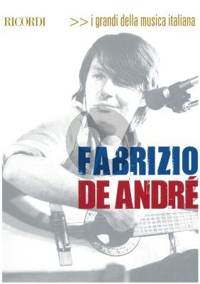 Fabrizio De Andre melody line-lyrics and chords