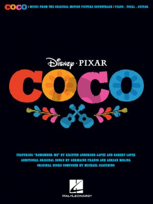 Disney Pixar's Coco Music from the Original Motion Picture Soundtrack Piano-Vocal-Guitar