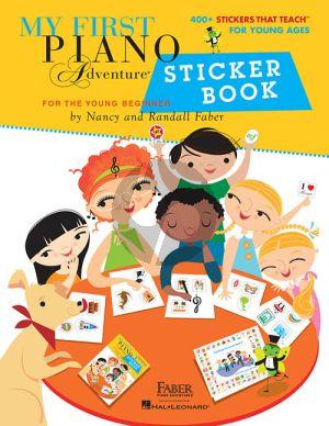 Faber My First Piano Adventure Sticker Book