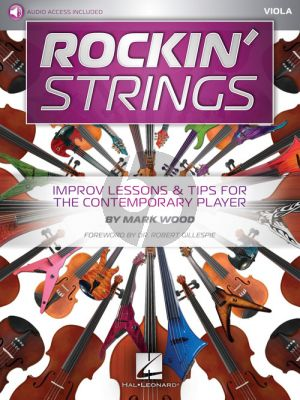 Rockin' Strings: Viola Improv Lessons & Tips for the Contemporary Player