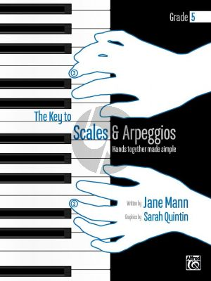 Mann Key to Scales and Arpeggios Grade 5 Complete Piano