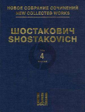 Shostakovich Symphony No.4 Op.43 Fullscore (New Collected Works of Dmitri Shostakovich – Volume 4)