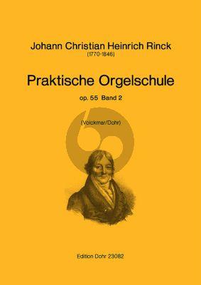 Rinck Praktische Orgelschule Op.55 Vol.2 (Volckmar/Dohr)