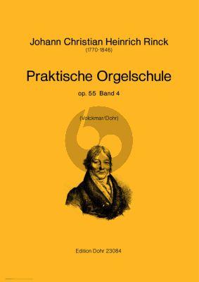 Rinck Praktische Orgelschule Op.55 Vol.4 (Volckmar/Dohr)