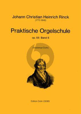 Rinck Praktische Orgelschule Op.55 Vol.5 (Volckmar/Dohr)