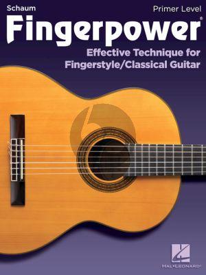 Fingerpower – Primer Level (Effective Technique for Fingerstyle/Classical Guitar)