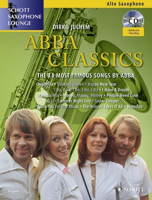 Abba Classics (The 14 Most Famous Songs) Alto Saxophone-Piano