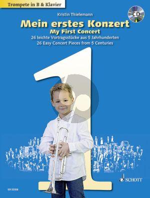 Mein erstes Konzert (My First Concert) 26 Easy Concert Pieces from 5 Centuries Trumpet-Piano