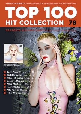 Top 100 Hit Collection 78 Noten - Texte - Akkorde - Tipps