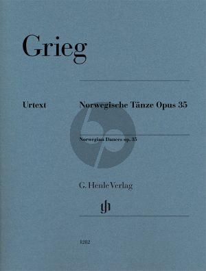Grieg Norwegische Tänze Op.35 Klavier (Ernst-Günter Heinemann und Einar Steen-Nøkleberg) (Henle-Urtext)