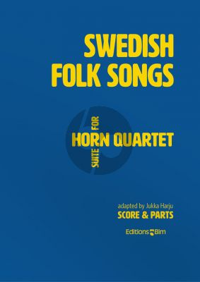 Harju Swedish Folk Songs Suite 4 Horns (Score/Parts)