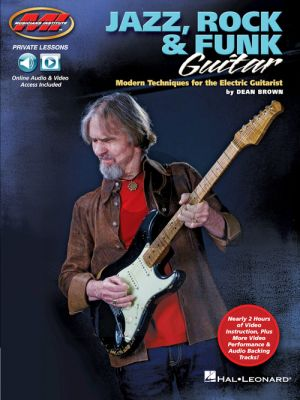 Brown Jazz, Rock & Funk Guitar Modern Techniques for the Electric Guitarist (Book with Audio and Video online)