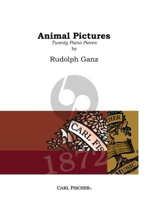 Ganz Animal Pictures Piano solo