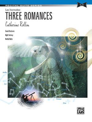 Rollin 3 Romances Piano solo