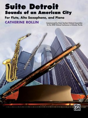 Rollin Suite Detroit: Sounds of an American City for Flute-Alto Saxophone and Piano