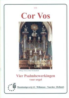 Vos 4 Psalmbewerkingen Orgel