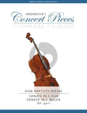 Breval Sonata C-major Op.40 No.1 Violoncello and Piano (edited by Christoph Sassmannshaus)