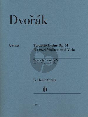 Dvorak Terzetto C-dur Op. 4 2 Violinen und Viola (Stimmen) (Annette Oppermann) (Henle-Urtext)