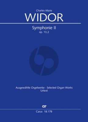 Widor Symphonie No.2 Op.13 Orgue (Georg Koch)