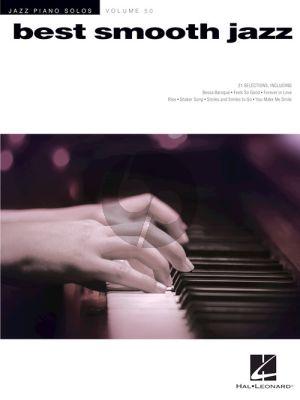Best Smooth Jazz Jazz (Piano Solos Series Volume 50)