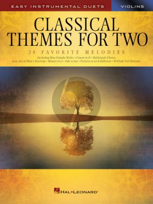 Classical Themes for Two Violins
