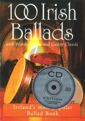 100 Irish Ballads Vol.1 (Bk-Cd) (Melodyline/Lyrics/Chords)