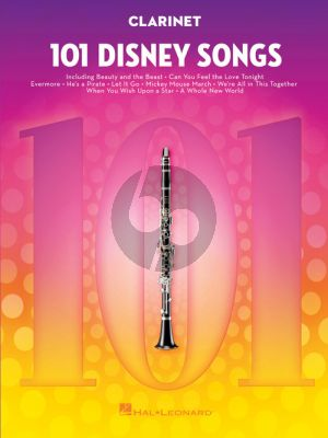 101 Disney Songs for Clarinet