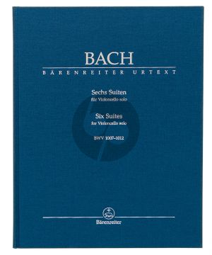 Bach Six Suites for Violoncello solo BWV 1007-1012 (Andrew Talle (Urtext of the New Bach Edition - Revised) (Hardcover)