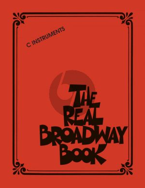 The Real Broadway Book all C Instruments