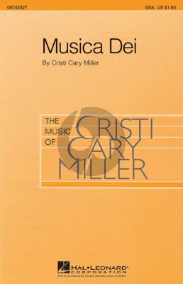 Miller Musica Dei SSA