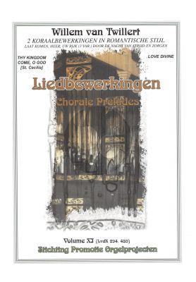 Twillert Liedbewerkingen Vol.11 Orgel ( 2 Koraalbewerkingen in romantische stijl)