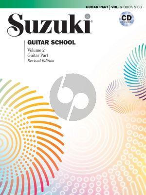 Suzuki Guitar School Vol.2 (Bk-Cd) (revised)