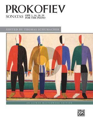Prokofieff Sonatas, Op. 1, 14, 28, 29 Piano solo (edited by Thomas Schumacher)