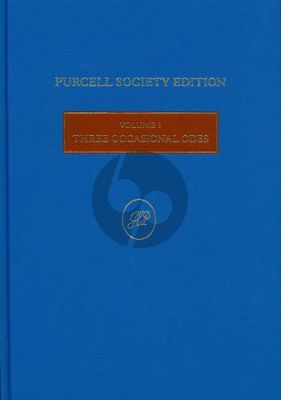 Purcell 3 Occasional Odes (Edited Bruce Wood) (Purcell Society Edition Hardcover 148 Pages)