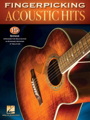 Fingerpicking Acoustic Hits Guitar solo