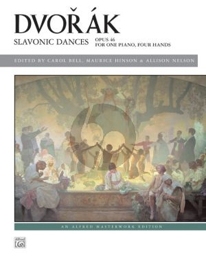 Dvorak Slavonic Dances Op.46 (ed. Carol Bell, Maurice Hinson, and Allison Nelson) (Level Advanced)