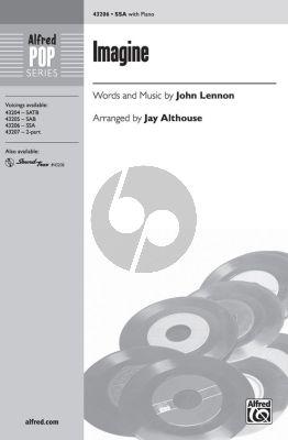 Lennon Imagine SSA (transcr. by Jay Althouse)