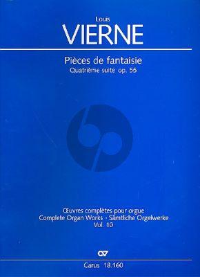 Vierne Pièces de Fantaisie Quatrième Suite Op.55 Orgel (Jon Laukvik / David Sanger)