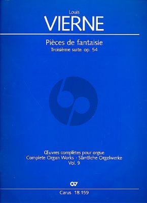 Vierne Pièces de Fantaisie Troisième Suite Op.54 Orgel (Jon Laukvik / David Sanger)