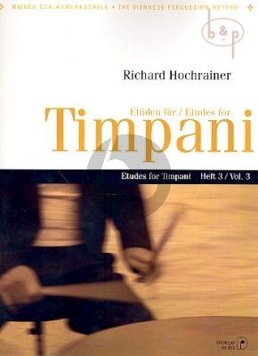 Etuden fur Timpani Vol.3