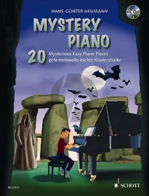 Heumann Mystery Piano (20 Mysterious Easy Piano Pieces) (Bk-Cd)