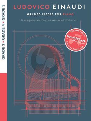 Ludovico Einaudi: Graded Pieces for Piano - Grades 3-5