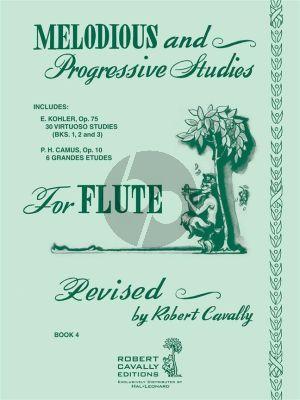 Cavally Melodious & Progressive Studies Vol.4 Flute