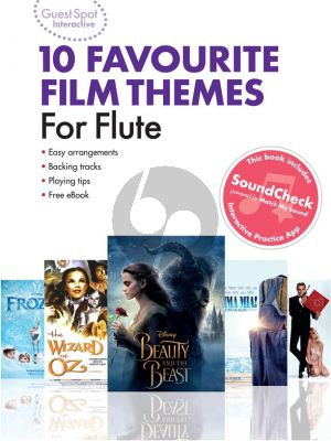 Guest Spot Interactive: 10 Favourite Film Themes for Flute (Book with Audio online)
