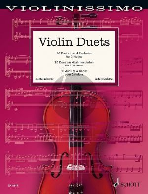 Violin Duets (30 Duets from 4 Centuries) (edited by Wolfgang Birtel)